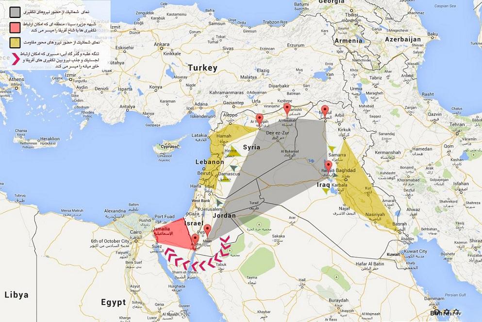 داعش کلید آمریکا برای بازگشایی پروژه خاورمیانه جدید