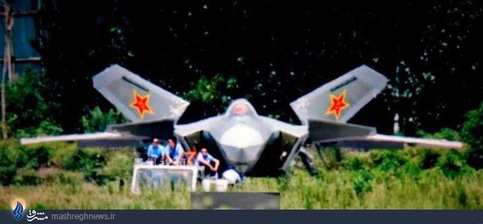 جدیدترین تصویر از جنگنده پنهانکار چین