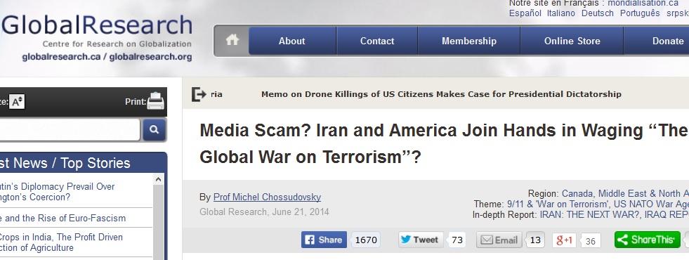 هدف پنهان آمریکا از همکاری با ایران در عراق