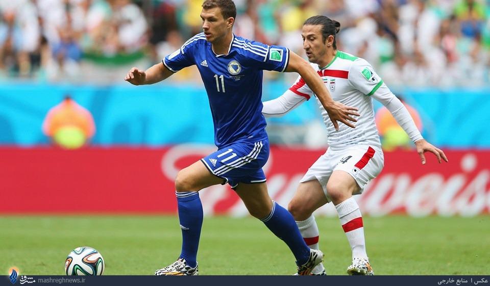 بهترین بازیکن دیدار ایران-بوسنی +عکس