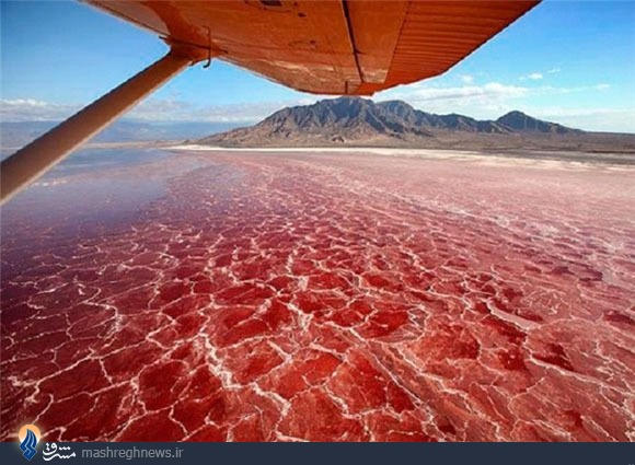 دریاچههایی که نباید در آن شنا کرد+تصاویر