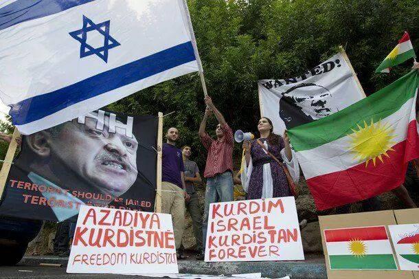 رژیم صهیونیستی استقلال اقلیم کردستان را اعلام کرد/ پیشبینی اسرائیل کرد از مقصد بعدی داعش/ درحال ویرایش