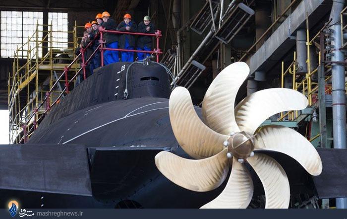عکس/زیردریایی پنهان کار روسیه