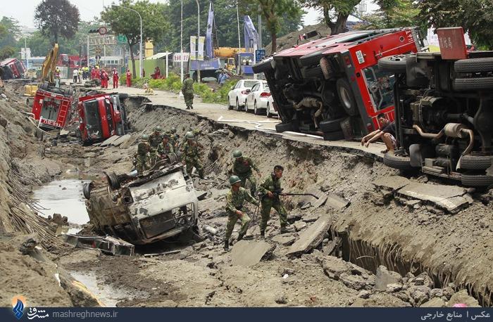 انفجار خط لوله گاز در تایوان و کشته شدن 25 تن