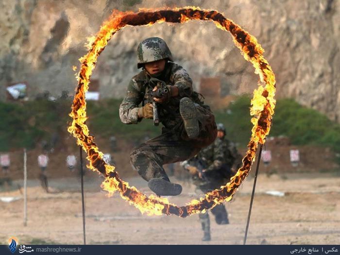 مرکز آموزشی نیروهای ویژه ارتش چین