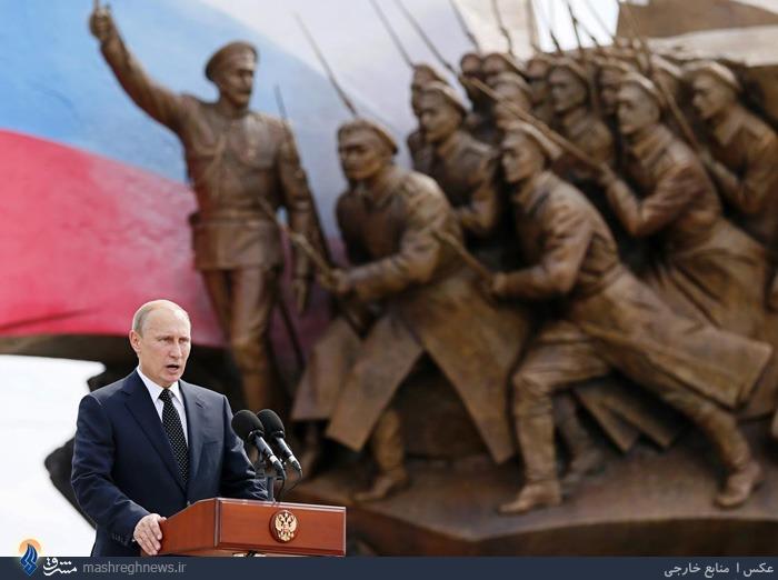 سخنرانی پوتین در مراسم بزرگداشت کشته شدگان جنگ جهانی اول در روسیه