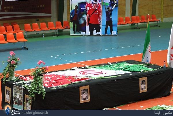 عکس/ آخرین حضور حسین معدنی در خانه والیبال