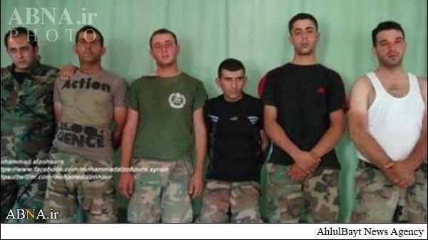 اسرای لبنانی در دست داعش+تصاویر