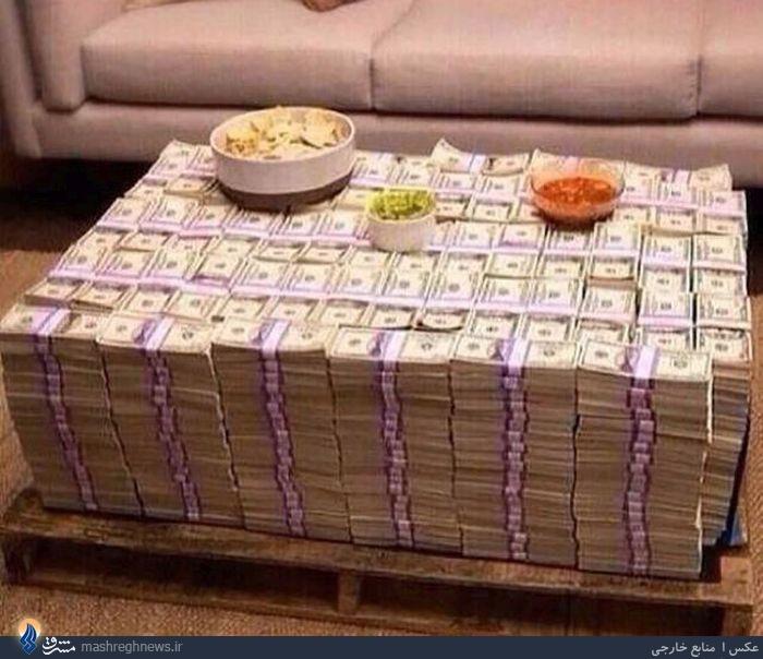 عکس/گرانترین میز غذاخوری دنیا