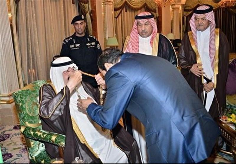 اهدای عالی ترین مدال عربستان به
