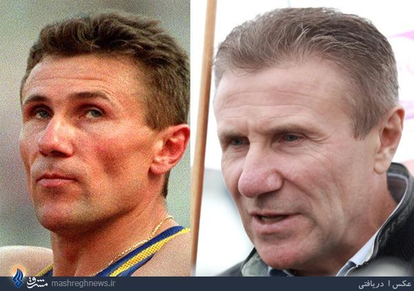 تصاویری متفاوت از 13 چهره مشهور ورزش