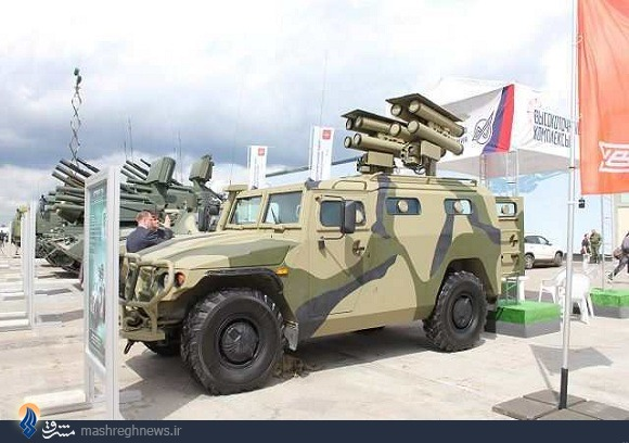 بحرین جدیدترین مشتری موشک کورنت+عکس