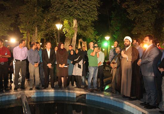 شهاب مرادی در عروسی مجری شبکه خبر+عکس