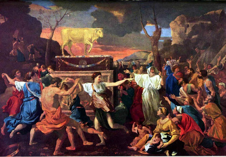 چگونه یهودیان بتپرست شدند