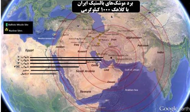 توانایی دریایی، هوایی و موشکی ایران در خلیج فارس