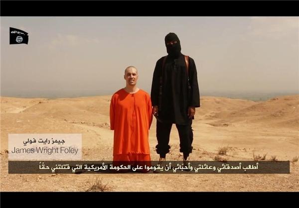 داعش یک خبرنگار آمریکایی را ذبح کرد+تصاویر