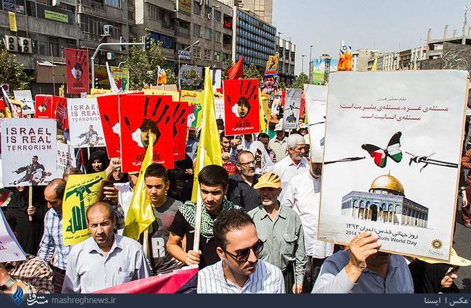 سی ان ان: به دلیل وقایع غزه تظاهرات امسال در تهران شور و حرارت بیشتری داشت/