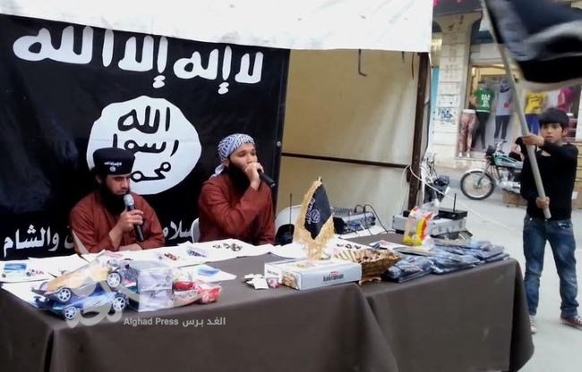 سرباز گرفتن به سبک داعش+عکس