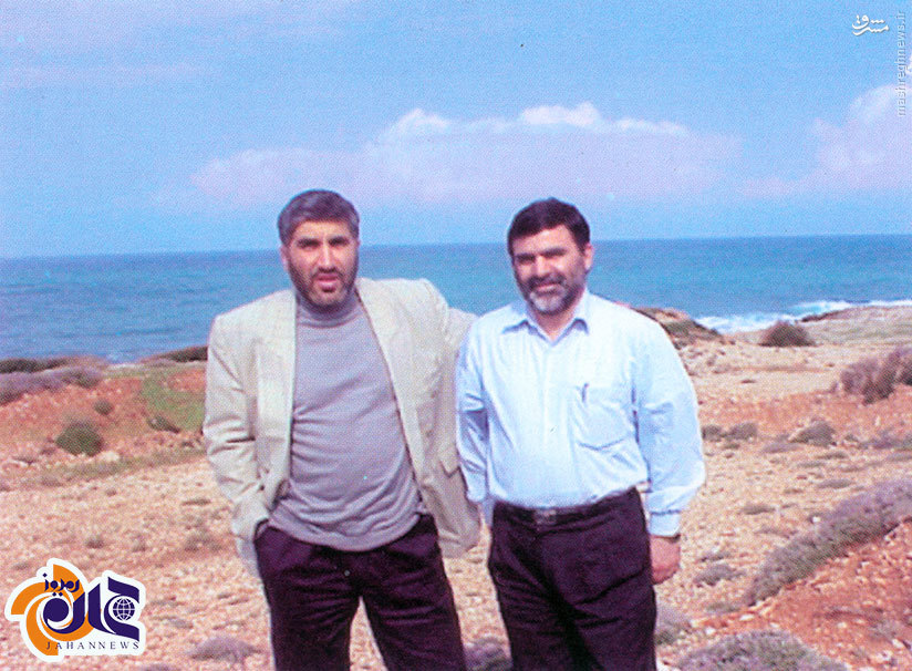 عکس / سرداران سپاه در ساحل مدیترانه