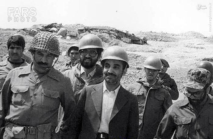 عکس/کلاه جنگی رئیسجمهور