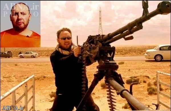 خبرنگار آمریکایی داعشی از آب درآمد+عکس