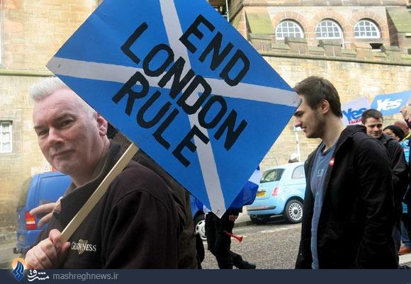مردم اسکاتلند به رفراندوم استقلال از بریتانیا رأی مثبت خواهند داد