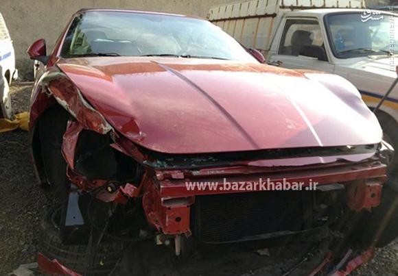 قیمت مازراتی تصادف ماشین تصادف خودرو Grancabrio