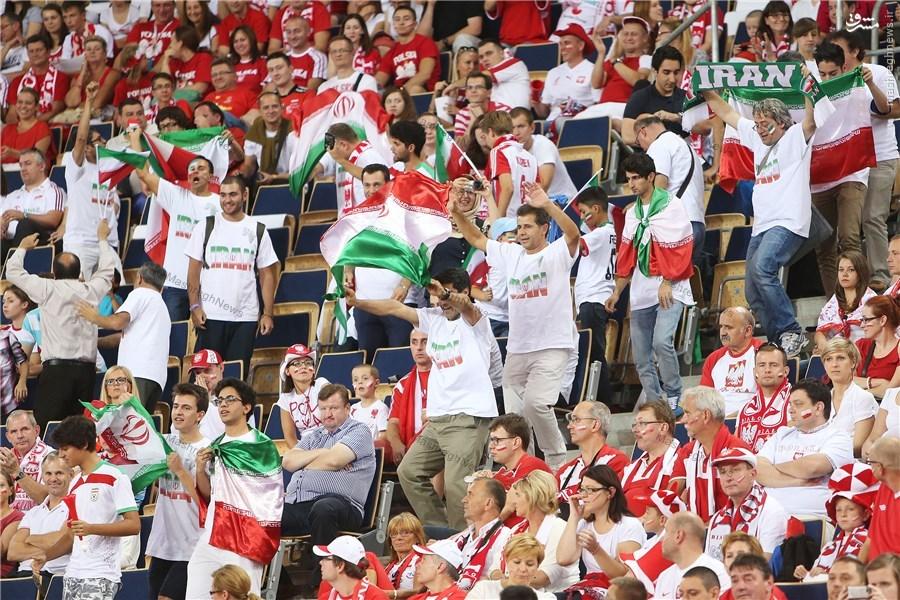 عکس/ هواداران واقعی ایران در لهستان