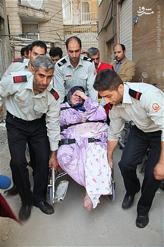 زن سنگین وزن تهرانی