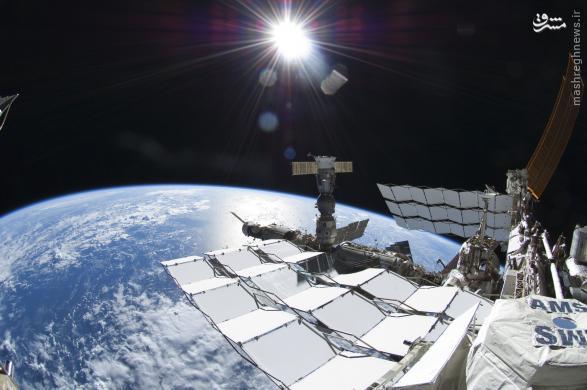 عکس های دیدنی از فضانوردان در فضا
