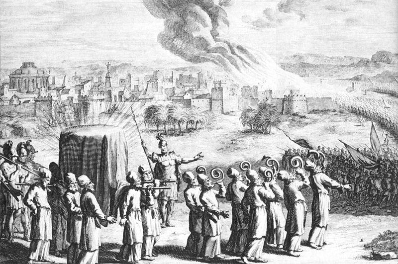چگونه یهودیان تابوت عهد را از دست داد؟