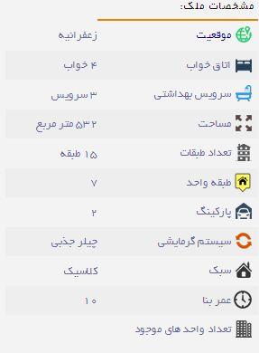 آپارتمان17میلیارد تومانی در تهران+تصاویر