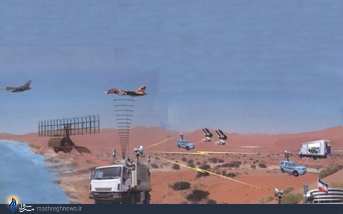 «الهه دزدها» چگونه در تور پدافندی سپاه افتاد +عکس