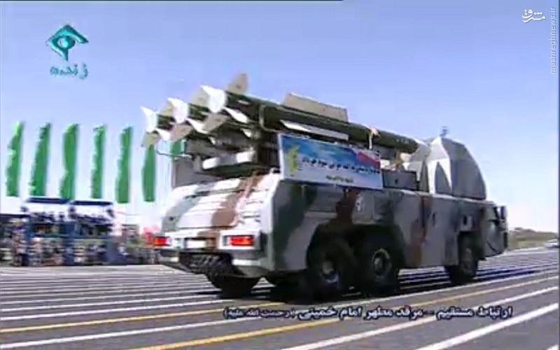 رکورد حضور سامانههای موشکی پدافند در رژه نیروهای مسلح شکسته شد