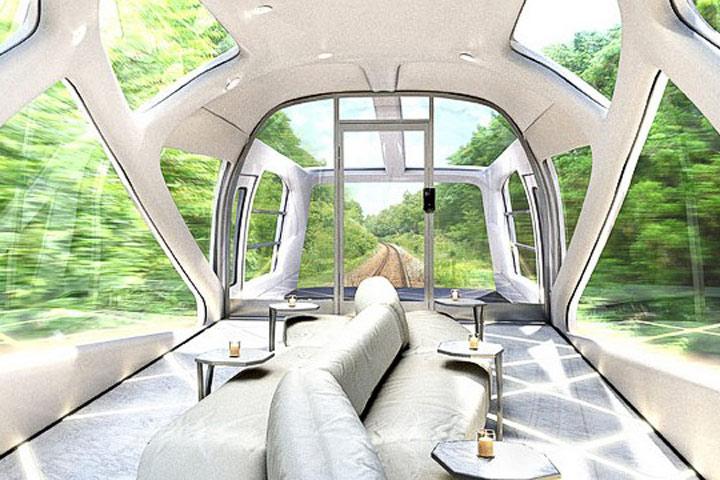لوکسترین قطار مسافربری + تصاویر