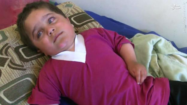 مرگ معصومانه کودکگمنام ایزدی+عکس