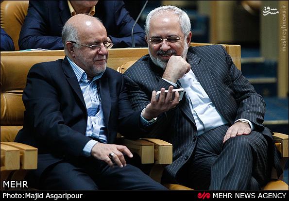 موبایل زنگنه وزیر نفت