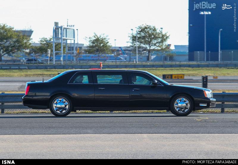 عکس/ ماشین رئیسجمهور در نیویورک
