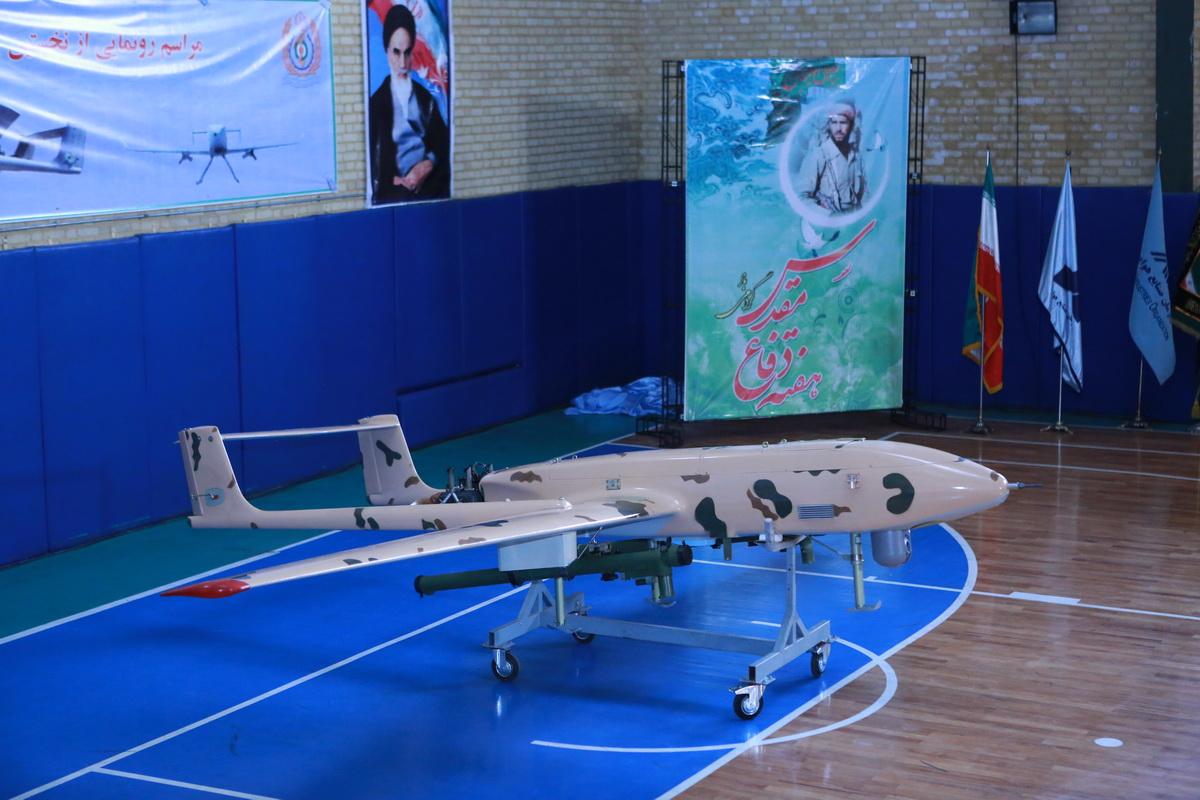 رونمایی از نخستین پهپاد «مسلح به موشکهای پدافند هوایی»+عکس