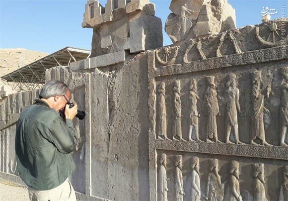 قطار گردشگران اروپایی به استان فارس رسید