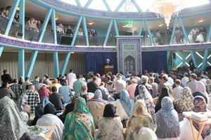 نمازجمعه هامبورگ با حضور غیر مسلمانان آلمانی+عکس