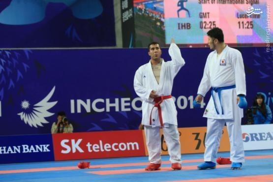 حرکت جنجالی ورزشکار ایرانی +عکس