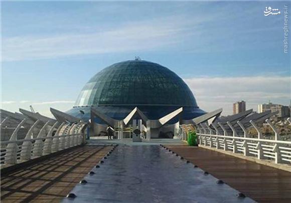 افتتاح بزرگترین آسمان نمای خاورمیانه+عکس