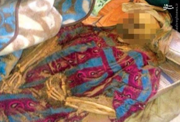 مادری که جسدش 8ماه در بستر ماند+عکس