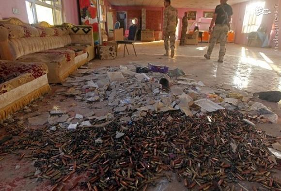 عکس/ پوکههای جنگ با داعش