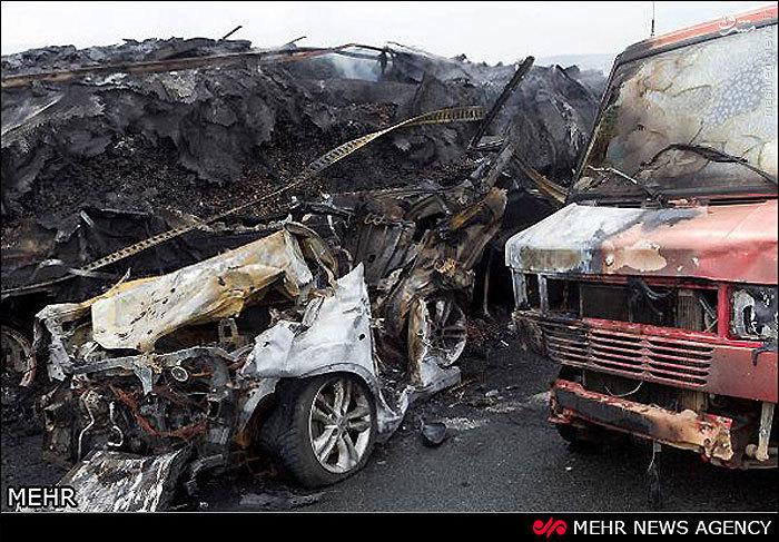 عکس تصادف های مرگبار