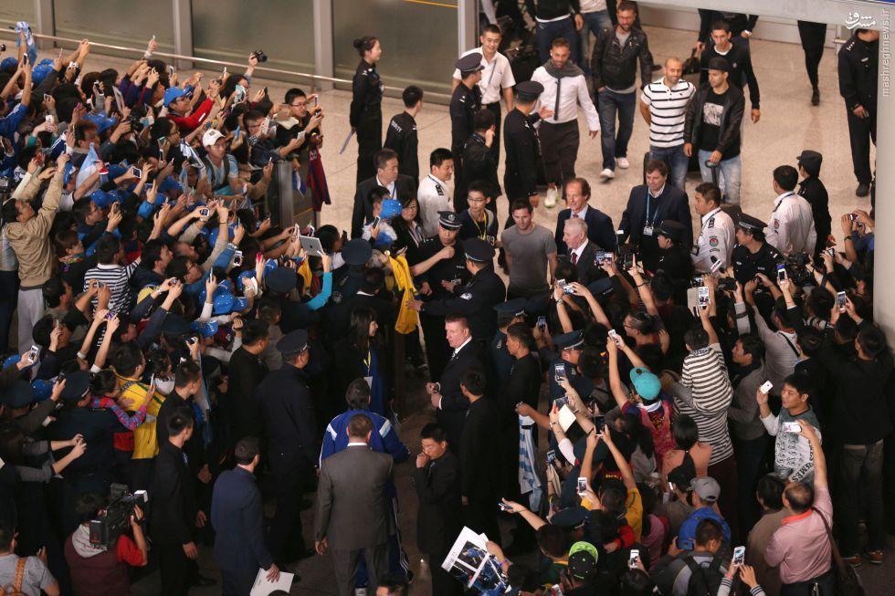 عکس/مسی فرودگاه پکن را به هم ریخت