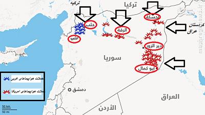 روایت کاملی از حملات ائتلاف علیه داعش
