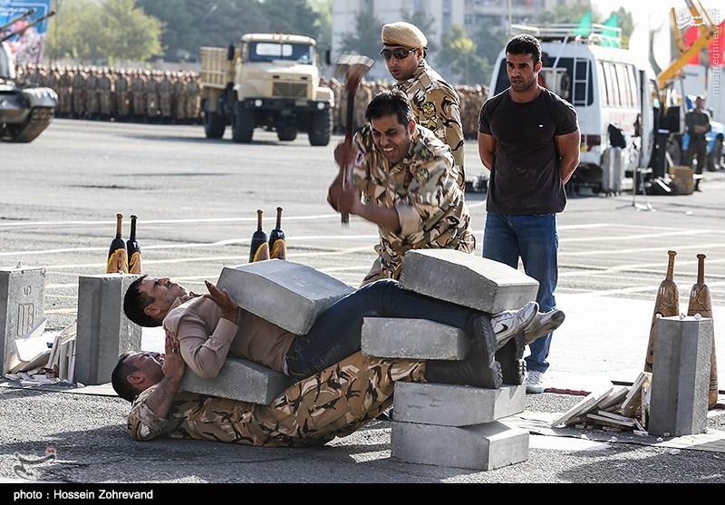 عکس/قدرتنمایی یک ارتشی