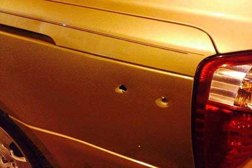حمله به مردم قطیف با گلوله جنگی+عکس